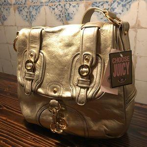 Juicy Couture gold shoulder bag NEW!